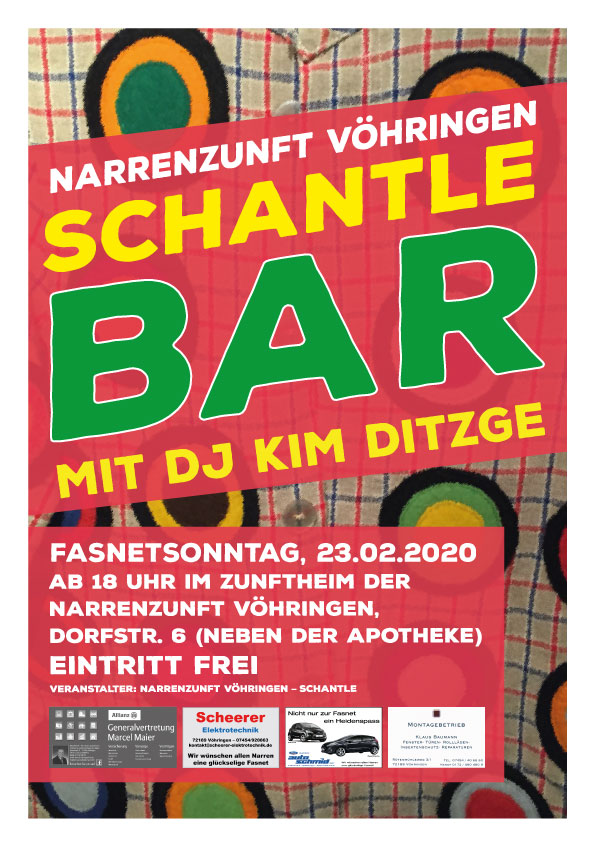 Schantle Bar 2020